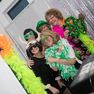Photo Booth at Wedding at Knights Of Columbus Of Fitchburg Council 99