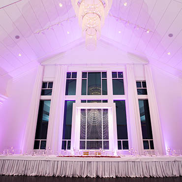superior Uplighting at Blue Hill Country Club